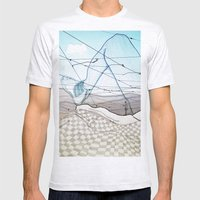 Viagem#3 Mens Fitted Tee Ash Grey SMALL