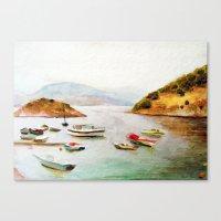 EYGENIA LOGVYNOVSKA , SEA Canvas Print