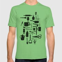 Kitchen Mens Fitted Tee Grass SMALL
