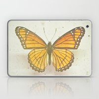 Golden Butterfly Laptop & iPad Skin