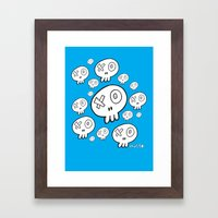 We're Doomed Framed Art Print