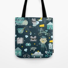 Thief night Tote Bag