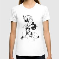 I hope that you don't hate me by now - Emilie Record Womens Fitted Tee White SMALL