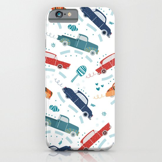 50's cars iPhone & iPod Case