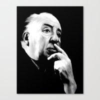 ALFRED HITCHCOCK: Legend Canvas Print