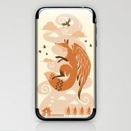 The Flying Fox's First F… iPhone & iPod Skin