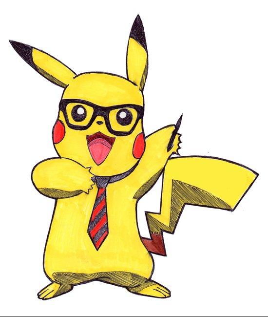 Pikachu Swag Art Print
