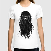 hair T-shirts featuring It Girl by Ruben Ireland