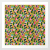 Cool Summer In The Musta… Art Print