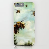 iPhone & iPod Case featuring Crown of Bees by Rachael Shankman