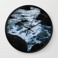Salt Water Study II Wall Clock