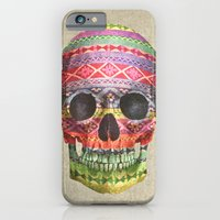 iPhone & iPod Case featuring Navajo Skull  by Terry Fan