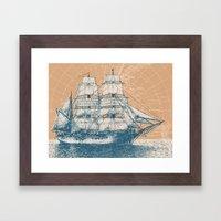 Age of Exploration Framed Art Print