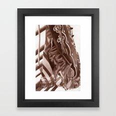 Cowboy Duds Framed Art Print