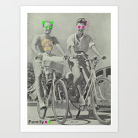 Family Fun Art Print