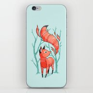 Winter Fox iPhone & iPod Skin