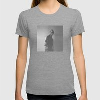the art of coffins Womens Fitted Tee Tri-Grey SMALL