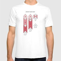 Know Your Meat Mens Fitted Tee White SMALL