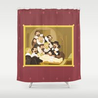 The Anatomy Lesson by Rembrandt Shower Curtain