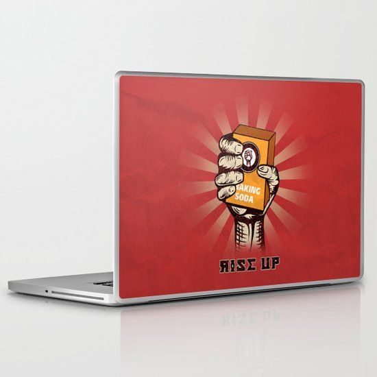 Rise Up Laptop & iPad Skin