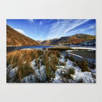 Brothers Water Canvas Print