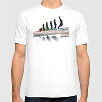 Staz Evolution Mens Fitted Tee White SMALL