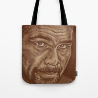 Round 11..david Haye Tote Bag