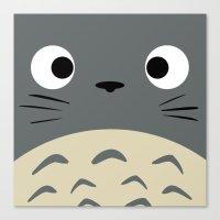 Curiously Troll ~ My Nei… Canvas Print