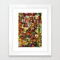 driew Framed Art Print