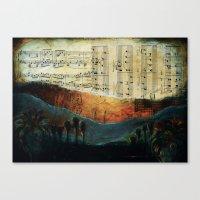 Dawning Hills Canvas Print