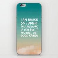 Good Karma iPhone & iPod Skin