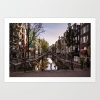 Early Morning, Amsterdam Art Print