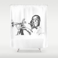Louis Armstrong, Satchmo or Pops Shower Curtain