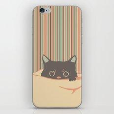 Kitty in the blanket iPhone & iPod Skin