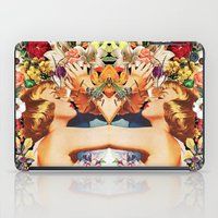 Floral Bed iPad Case