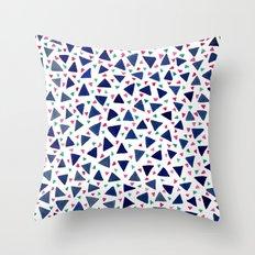Confetti Triangles Throw Pillow
