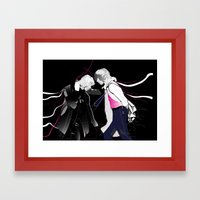 The Fight Framed Art Print