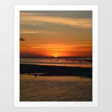 Quarter of sun...... Art Print
