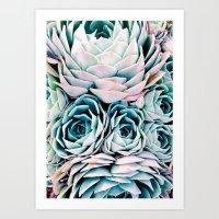 Pastel Paradise Art Print