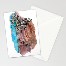 a rip in the earth Stationery Cards