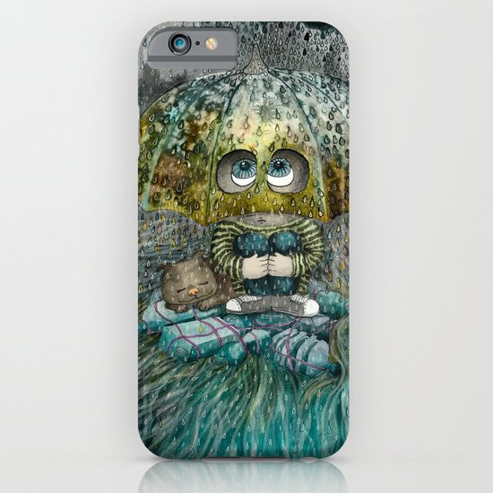 Rain All Day iPhone & iPod Case