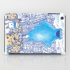 Monster in the city iPad Case