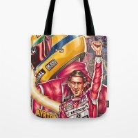 Ayrton Senna Do Brasil Tote Bag