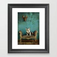 The Deer Hunter Framed Art Print