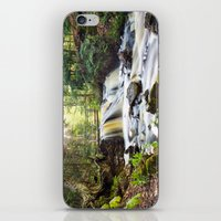 Upper Chapel Falls at Pictured Rocks National Lakeshore - Michigan iPhone & iPod Skin