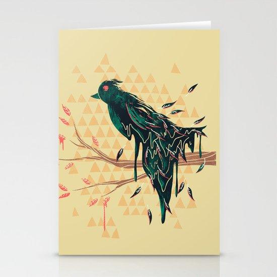 Fading Beauty Stationery Card