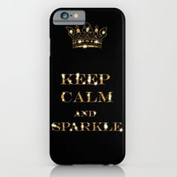 keep calm iPhone & iPod Cases featuring Keep calm by UtArt