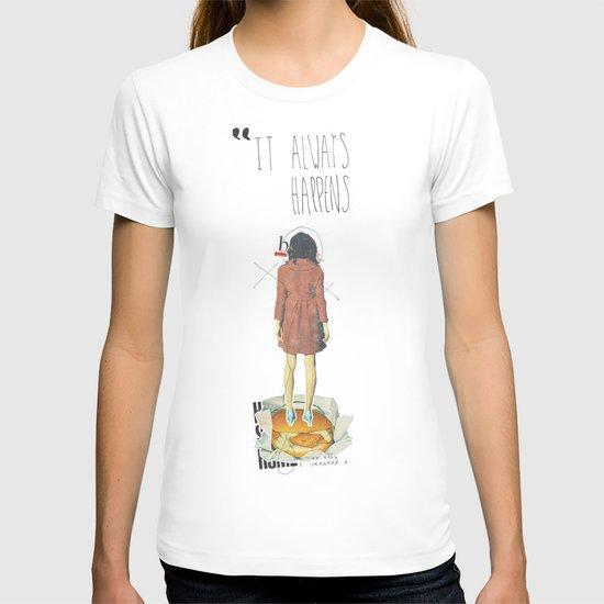 It Always Happens   Collage T-shirt