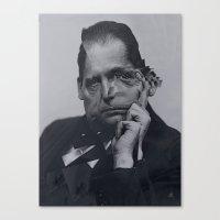 Cut Gropius 3 Canvas Print