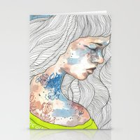 Hideout, Watercolor Illu… Stationery Cards